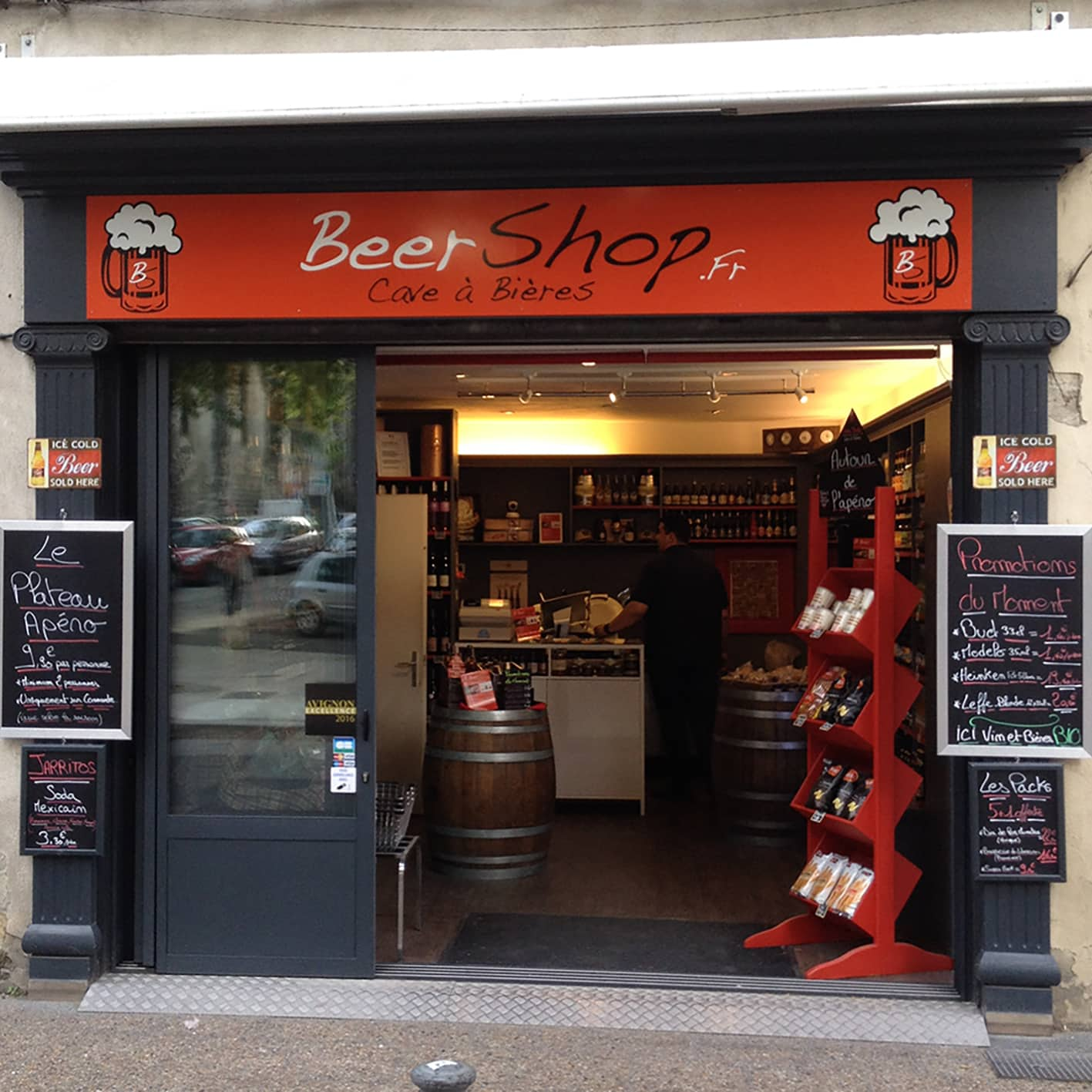 dibond-beer-shop